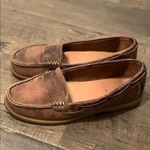 Brown BED STU loafers. 7.5